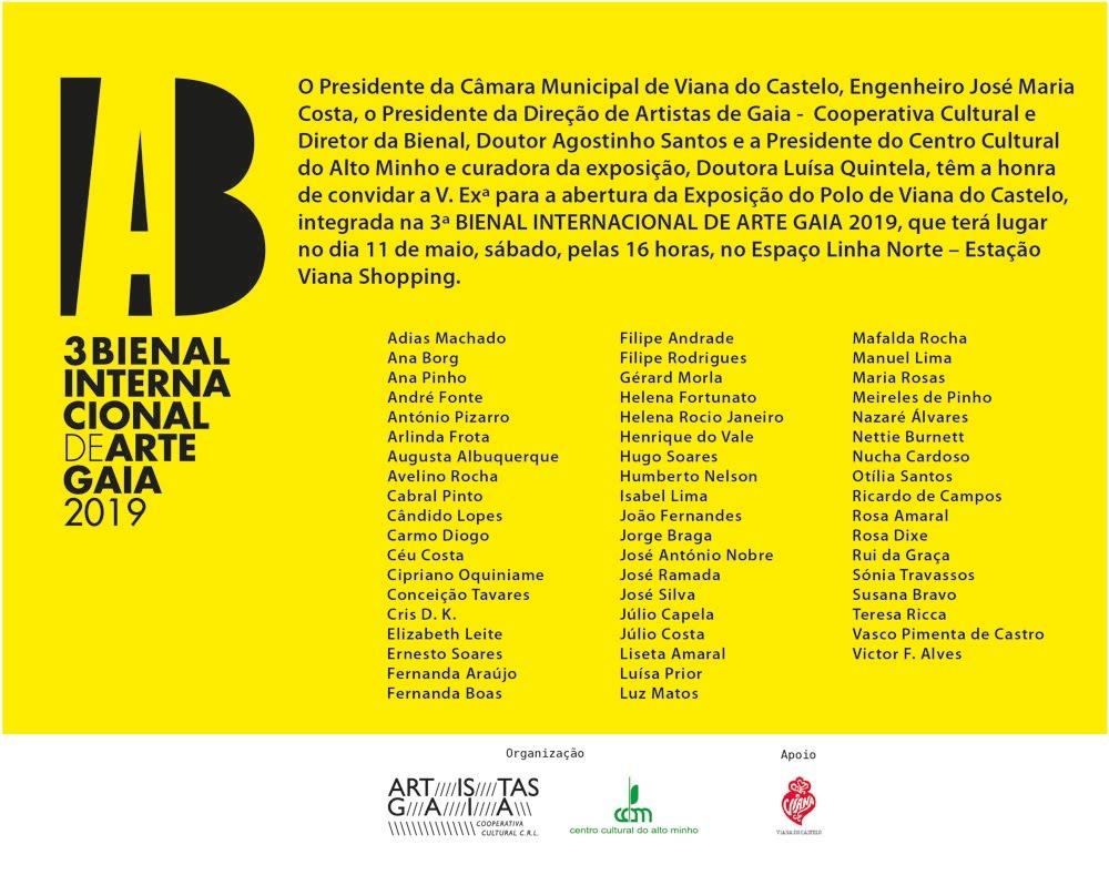 3 Bienal Internacional de Arte Gaia 2019